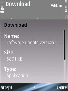screenshot0001 Firmware Update available for Nokia E75 to v110.48.125