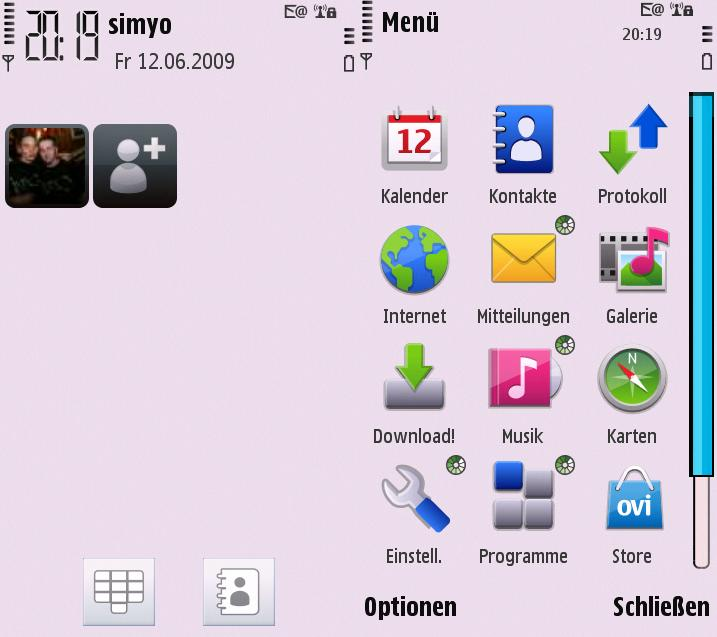 screenshot00721 S60 5th Edition Themes for Nokia N97, Nokia 5800, 5530 XpressMusic and Samsung I8910 Omnia HD
