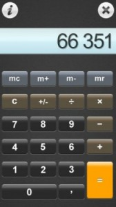 calc 210x375 168x300 S60 5th Edition Freeware Downloads for Nokia 5800, N97, 5530 and Samsung I8910