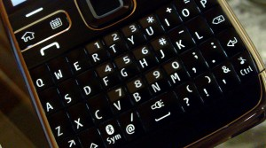 E72 Shortcut Keys 300x167 Shortcut Keys on the Nokia E72 QWERTY Keypad