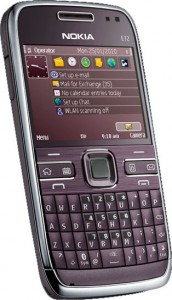 Nokia E72 Purple