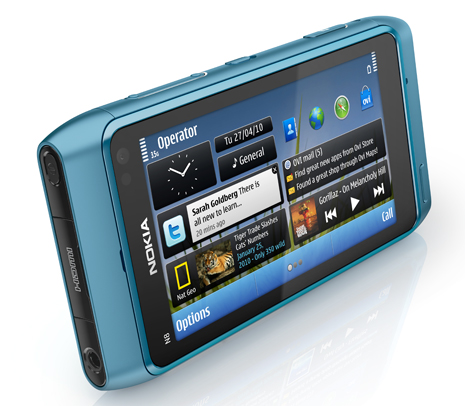 Picture: Nokia N8 blue