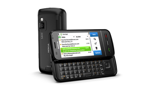 Nokia C6 Black 01 lowres Nokia 5800 Xpressmusic v52 and Nokia C6 v20 Firmware Update (Changelog)
