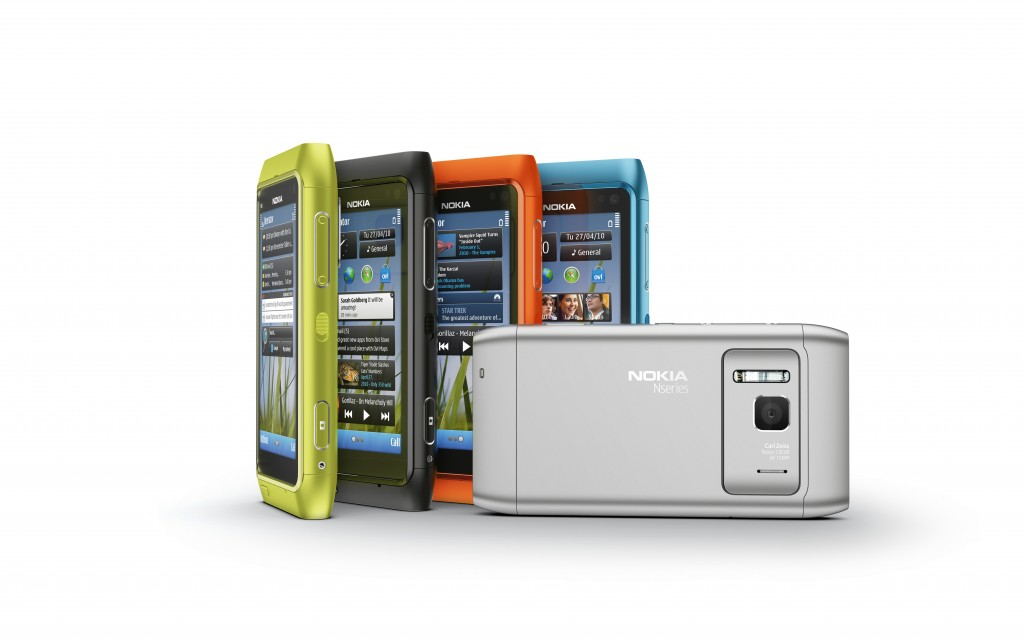 Nokia N8 in all colors