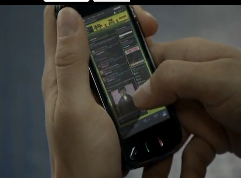 Nokia N97 in Black Eyed Peas Video