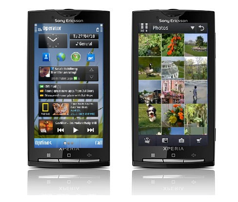 Sony Ericsson Xperia X10 Will Sony Ericsson and Samsung consider Symbian OS again?