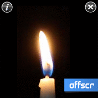 Candle touch symbian S60 5th Edition Freeware Downloads for Nokia 5800, N97, 5530, C6, 5230, X6 and Samsung I8910