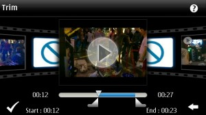 Nokia N8 video editor Symbian^3