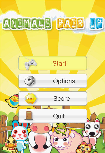 animals pair up S60 5th Edition Freeware Downloads for Nokia 5800, N97, 5530, C6, 5230, X6 and Samsung I8910