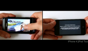 nokia n8 vs iphone 4 gaming