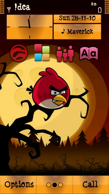 Angry Birds S^3 Symbian^3 Themes for Nokia N8 Nokia C7 Nokia C6 01 and Nokia E7