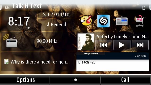 Manga Stream Widget on Nokia and Symbian phones (5)