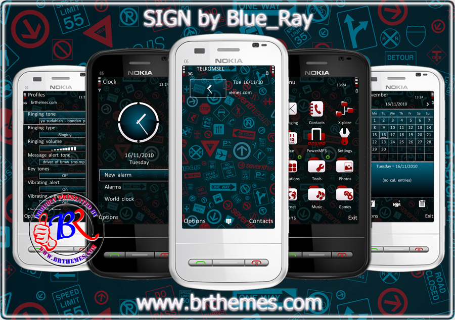SIGN Symbian^3 Themes for Nokia N8 Nokia C7 Nokia C6 01 and Nokia E7
