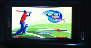 cricket t20 for symbian^3 300x158 Download: Cricket T20 Fever 3D for Nokia N8