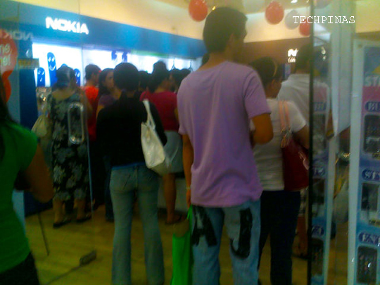 nokia c3 launch sm north edsa