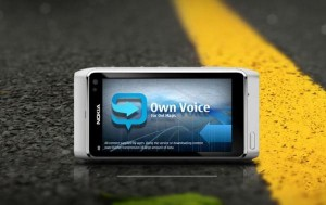 own voice nokia n8