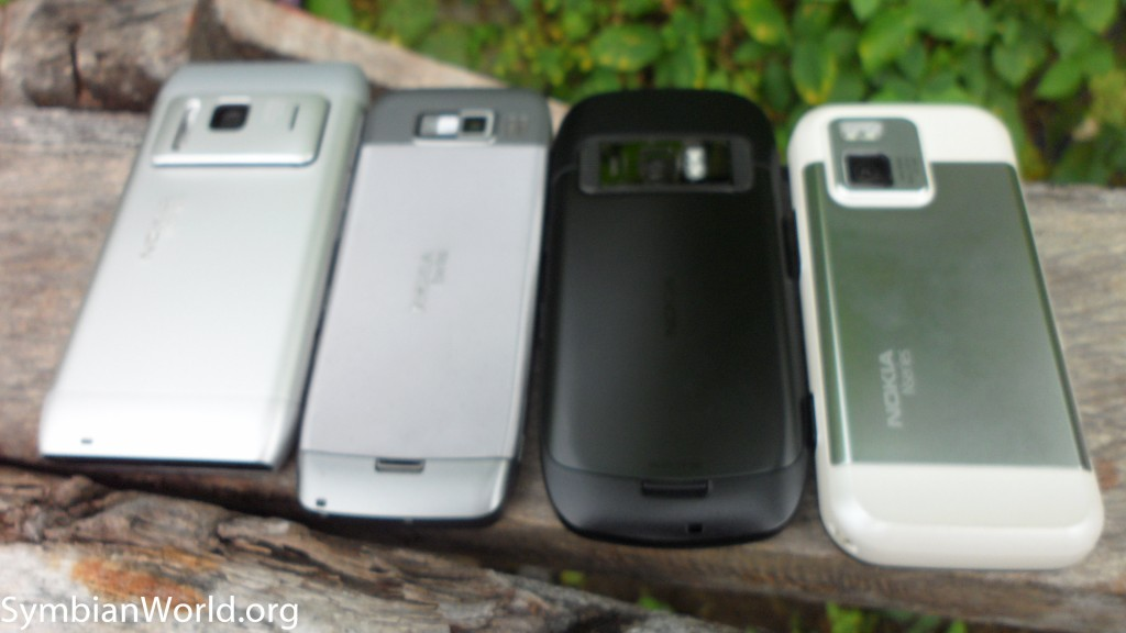 Nokia C7 vs N97 mini vs N8 vs E52 (1)