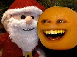 annoying orange and santa