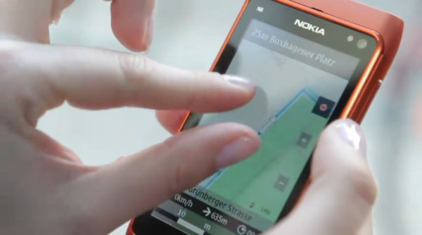 nokia n8 on ovi maps