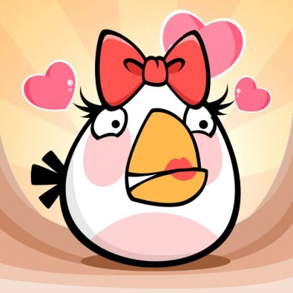 Angry Birds White Valentine