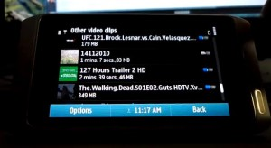 nokia n8 player for movies divx xvid avi flash