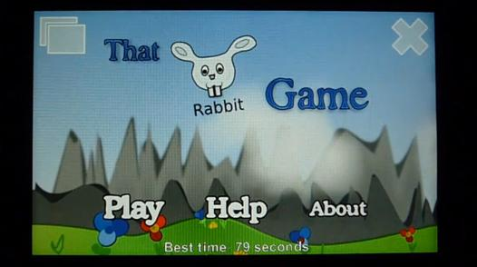 that rabbit game for symbian and maemo S60 5th Edition Freeware Downloads for Nokia 5800, N97, 5530, C6, 5230, X6 and Samsung I8910