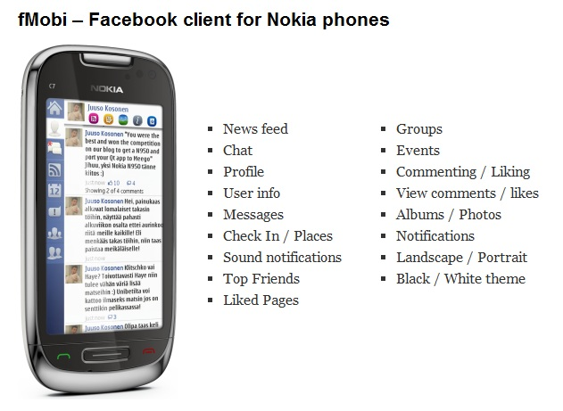 fmobi for nokia symbian Best Social Apps for Symbian: Facebook, Twitter, Foursqu