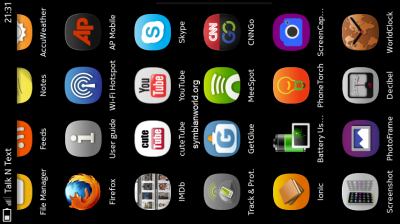 Nokia N9 MeeGo Browser Add Apps to Home Screen 2 No Apps On Your Nokia N9? Simple, Just Add Websites To Your Home Screen   IMDb & GetGlue